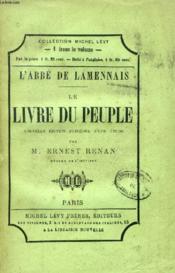 Le Livre Du Peuple, Du Passe Et De L'Avenir Du Peuple - Couverture - Format classique