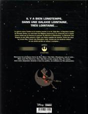 Star Wars ; l'ascension de Skywalker - 4ème de couverture - Format classique