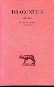 Oeuvres t.1 ; louanges de dieu L1-2 - Couverture - Format classique