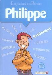 L'encyclopédie des prénoms t.8 ; Philippe - Intérieur - Format classique