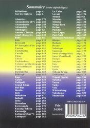Catalogue de cotations des timbres des bureaux français, anciennes colonies, et zones d'occupation en Europe et Asie (édition 2006/2007) - 4ème de couverture - Format classique