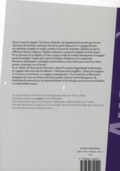 La Méditerranée ; figures du tragique ; 16èmes rencontres d'Averroès - 4ème de couverture - Format classique