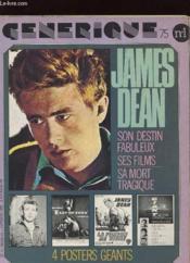 Generique 75 N°1 - James Dean - Couverture - Format classique