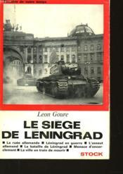 Le Siege De Leningrad - Couverture - Format classique