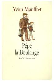 Pepe la boulange - Couverture - Format classique