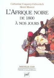 L'afrique noire de 1800 a nos jours (5e édition) - Intérieur - Format classique
