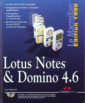 Lotus Notes Et Domino 4.6 - Intérieur - Format classique