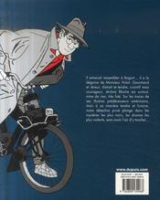 Jérôme K. Jérôme Bloche ; INTEGRALE VOL.2 ; T.7 A T.12 - 4ème de couverture - Format classique