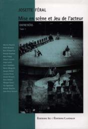 Mise En Scene Et Jeu D'Acteur T.1 - Couverture - Format classique