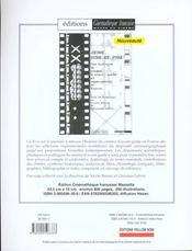Revue cinematheque n.17 - 4ème de couverture - Format classique