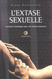 L'extase sexuelle ; conseils et techniques - Intérieur - Format classique