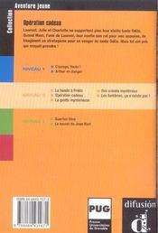 Aventure jeune-operation cadeau - niv.2 - 4ème de couverture - Format classique