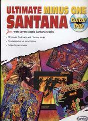 Ultimate santana minus one ; guitar trax - Intérieur - Format classique