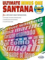 Ultimate santana minus one ; guitar trax - Couverture - Format classique