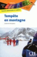 Tempête en montagne - Couverture - Format classique