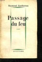 Passage Du Feu. - Couverture - Format classique