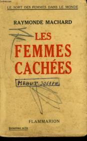 Les Femmes Cachees. - Couverture - Format classique