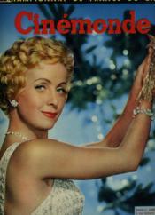 CINEMONDE - 24e ANNEE - N° 1167 - DANIELLE DARRIEUX présente à nos lecteurs ses meilleurs voeux de Noël et du Nouvel AN - Couverture - Format classique