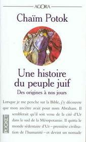 Une histoire du peuple juif - Intérieur - Format classique