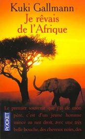 Je Revais De L'Afrique - Intérieur - Format classique