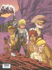 Butch Cassidy t.1 ; Walnut Grave - 4ème de couverture - Format classique