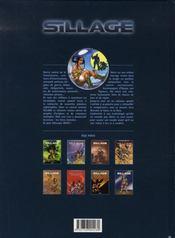 Sillage t.1 ; à feu et à cendres (édition 2006) - 4ème de couverture - Format classique