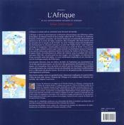 L'Afrique Et Son Environnement Européen Et Asiatique - 4ème de couverture - Format classique