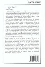 Chemins de paix - 4ème de couverture - Format classique