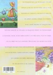 Decorer En Craquele - 4ème de couverture - Format classique