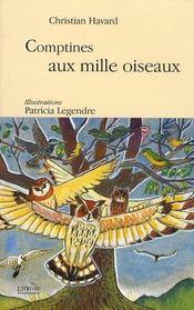 Comptines au mille oiseaux - Intérieur - Format classique