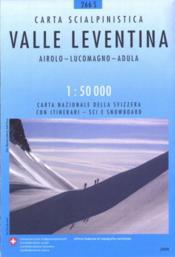 Valle Leventina ; 266 S - Couverture - Format classique