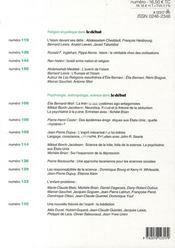 Revue Le Débat N.152 ; novembre-décembre 2008 - 4ème de couverture - Format classique