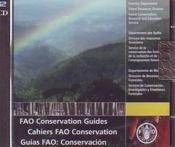 Fao Conservation Guides (2 Cd-Rom) Francais/Anglais/Espagnol - Couverture - Format classique
