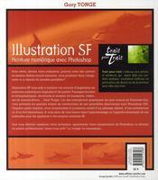 Illustration SF ; peinture numérique avec Photoshop - 4ème de couverture - Format classique