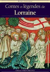 Contes et légendes de Lorraine - Couverture - Format classique