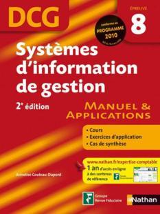 telecharger Systemes d'information de gestion – DCG epreuve 8 – manuel et applications (edition 2009) livre PDF en ligne gratuit