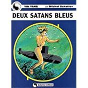 Deux satans bleus - Couverture - Format classique