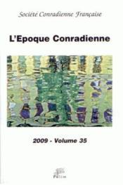 L'Epoque Conradienne N.35 - Couverture - Format classique