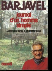 Journal d'un homme simple - Couverture - Format classique
