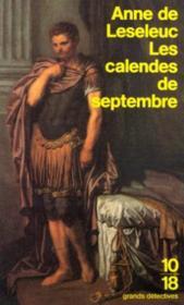 Les calendes de septembre - Couverture - Format classique