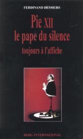 Pie xii - le pape du silence - Couverture - Format classique