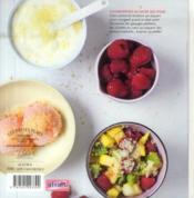 Gourmandises au sucré qui pique - 4ème de couverture - Format classique