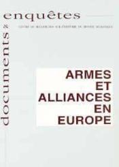 Armes et alliances en Europe - Couverture - Format classique