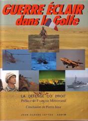 Guerre Éclair Dans Le Golfe - Couverture - Format classique