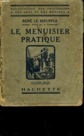 Le Menuisier Pratique - Couverture - Format classique