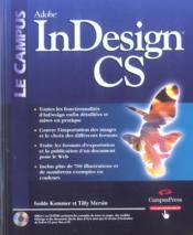 Indesign cs - Couverture - Format classique