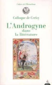 L'androgyne dans la litterature - Couverture - Format classique