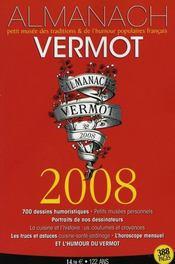 Almanach Vermot (édition 2008) - Intérieur - Format classique