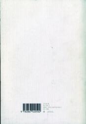 Une vie ; oeuvres choisies - 4ème de couverture - Format classique