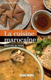 La cuisine marocaine - Couverture - Format classique